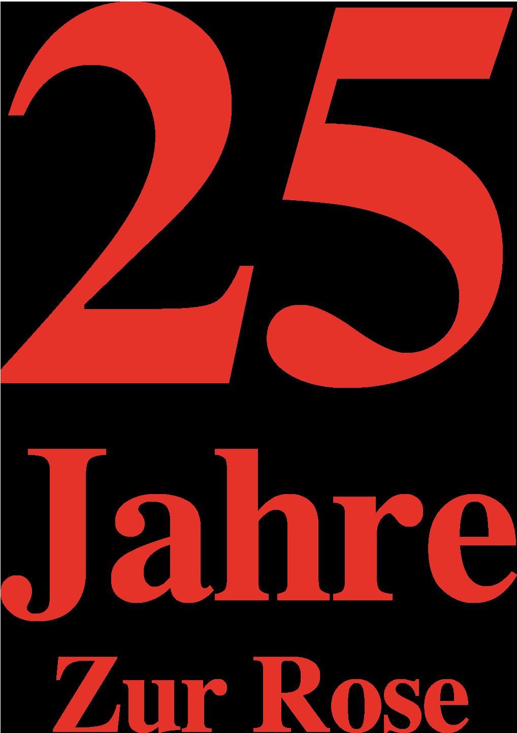 25-Jahr-Jubiläumslogo